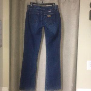 """Wrangler premium spatchcock Jeans Sz 5/6x34"""" EUC"""